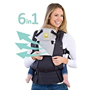 SIX-Position, 360° Ergonomic Baby & Child Carrier by LILLEbaby - The COMPLETE All Seasons (Charcoal/Silver)
