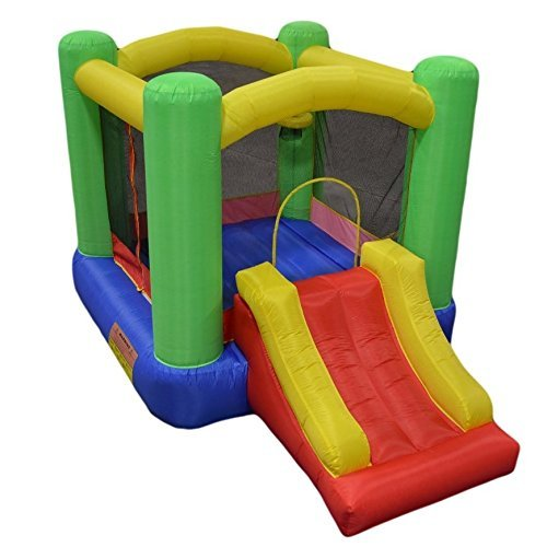 "My Bouncer Little Slide Castle Bounce 118"" L x 78"" W x 78"" H"