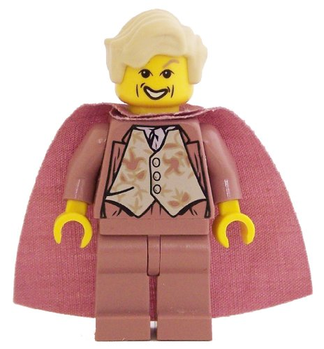 LEGO Minifigure - Harry Potter - GILDEROY LOCKHART (Sand Red)