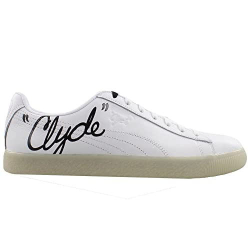buy online 6b98a f62e0 PUMA Men's Clyde Signature Ice Puma White/Puma Black 9.5 D ...