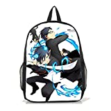 Dreamcosplay Ao no Exorcist black Backpack Student Bag Cosplay