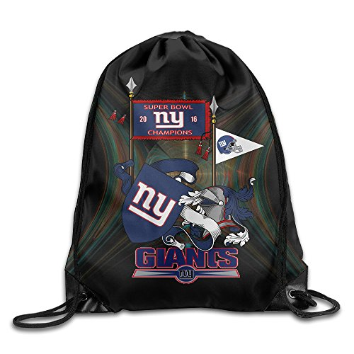 YYHU NY Giants Flag Sackpack Rucksack Shoulder Bags Sport Gym Bag - Great For Travel And Everyday (Steven And Chris Halloween Costumes)
