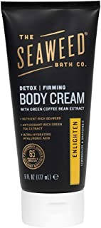 product image for The Seaweed Bath Co. Detox Body Cream, Moisturizing Lotion, Enlighten Scent, Lemongrass, 6oz. (Packaging May Vary)