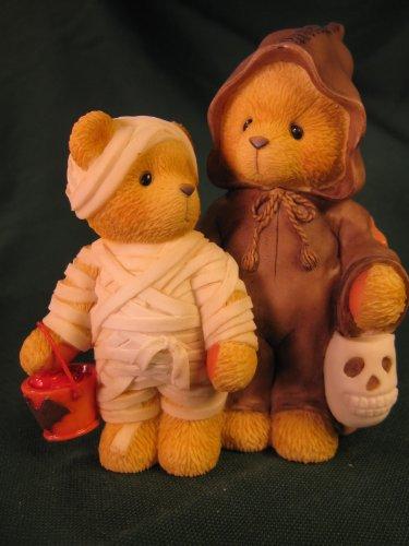 Cherished Teddies.......... Milt and Garrett... A Haunting We