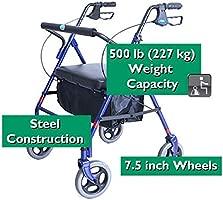 Invacare Corporación Bariátrico Andador Rollator 226,8 kg ...