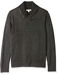 Men's Soft Cotton Shawl Pullover Sweater