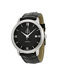 Omega DeVille Prestige Automatic Black Dial Mens Watch 424.13.40.20.01.001