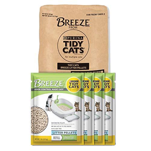 (Purina Tidy Cats Litter Pellets; BREEZE Refill Litter Pellets - 7 lb. Pouch)