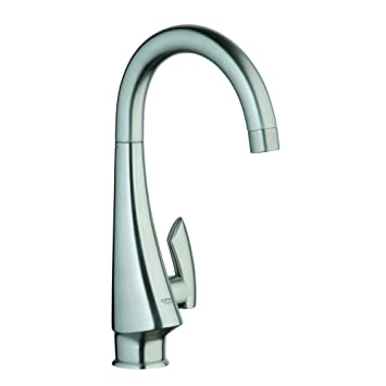 Grohe 30004SD0 K4 Pillar Tap Faucet Stainless Steel - Touch On ...