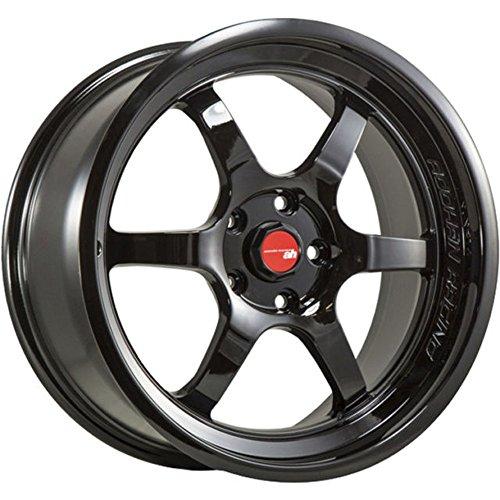 Aodhan Wheels AH-08: 18x9.5, 5x100, 73.1, 30, (Hyper Black)