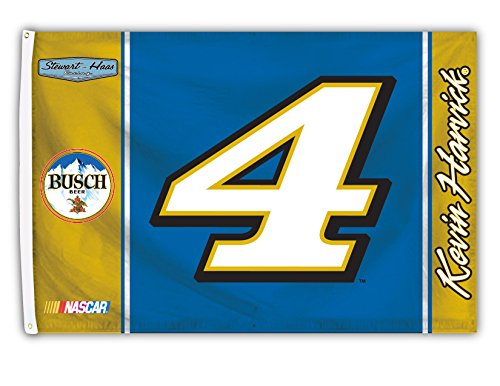 Kevin Harvick 1-Sided Flag with Number 60 x 36in