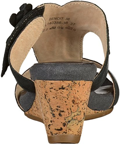 Laura Vita BENOIT38 SL140356-38 Womens Mules Black oaAvR5