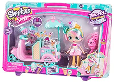 Shopkins Shoppies Peppa-Mint's Gelati Scooter by Moose Toys Import
