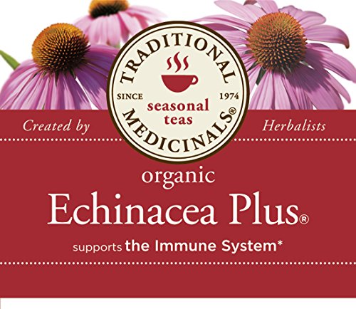 032917000514 - Traditional Medicinals Organic Echnicea Plus, Wrapped Tea Bags, 0.85 Ounce carousel main 6