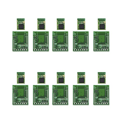 ELSRA 10pcs CC2541 BLE 4. 0 Bluetooth Low Energy Module BT01-2 w/ DIP adapter PCB by ELSRA