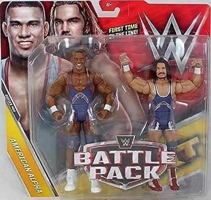 WWE Pack de Lucha Serie 44 Figuras de Acción - American Alpha Jason Jordan & Chad Gable Tag Team: Amazon.es: Juguetes y juegos