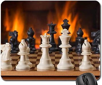 Mouse Pads - Juego de Mesa de ajedrez Fireside Estrategia Jugar: Amazon.es: Electrónica
