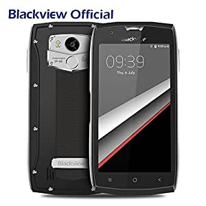 Blackview BV7000 Pro - IP68 Impermeable 4G Moviles - Dual SIM, Android 6.0, 4GB RAM, 64GB ROM, Octa Core, Cámara 13MP, 5.0 FHD pantalla, 3500mAh Batería, Antigolpes, Antipolvo Smartphones - Plata
