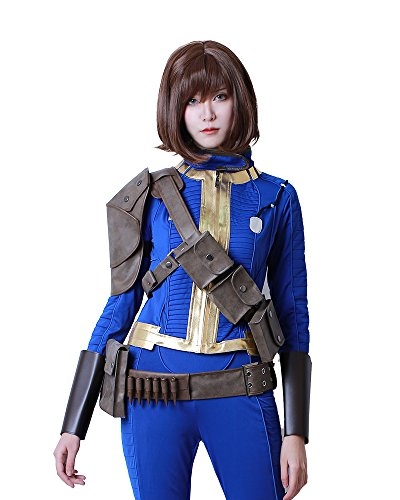 Miccostumes Men's Sole Survivor Cosplay Belts Set (Women Small)