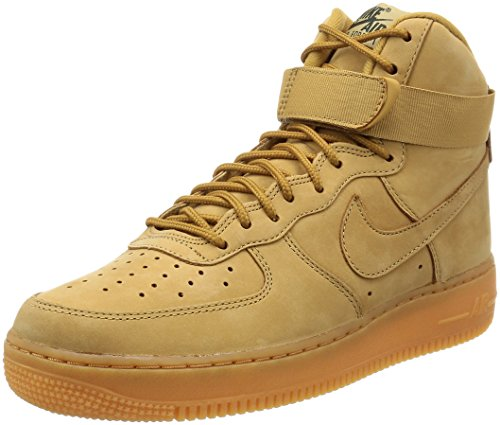 Nike outdoor '07 Basket Scarpe Marrone flax gum flag Da Light Green Wb Air Brown High Force Uomo 1 Lv8 200 wIWrwz6q
