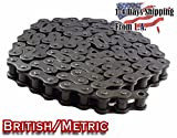 16B Metric Standard Roller Chain 10 Feet with 1 Connecting Link
