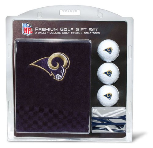 Bag Louis St Rams Golf (NFL Los Angeles Rams Embroidered Golf Towel, 3 Golf Ball, and Golf Tee Set)