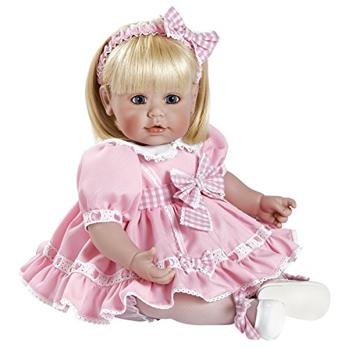 """Adora Toddler Sweet Parfait 20"""" Girl Weighted Doll Gift Set for Children 6+ Huggable Vinyl Cuddly Snuggle Soft BodyToy"""