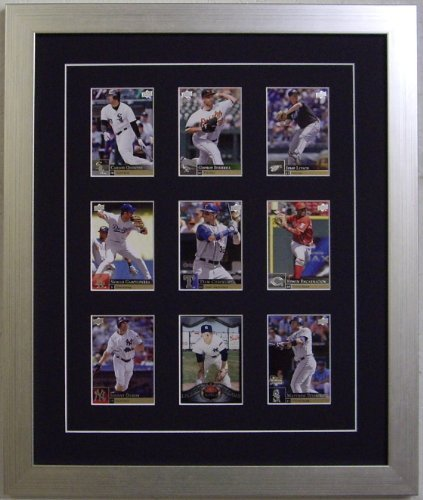 Compare Price Baseball Card Display Case Frame On