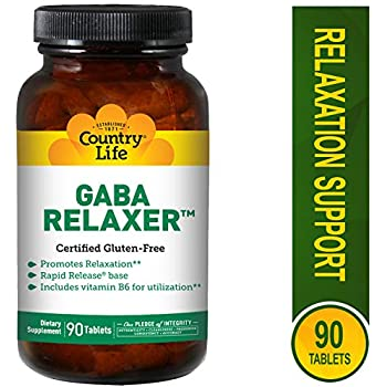 Country Life GABA Relaxer (rr), 90-Count