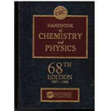 Handbook of Chemistry and Physics, 68th Edition