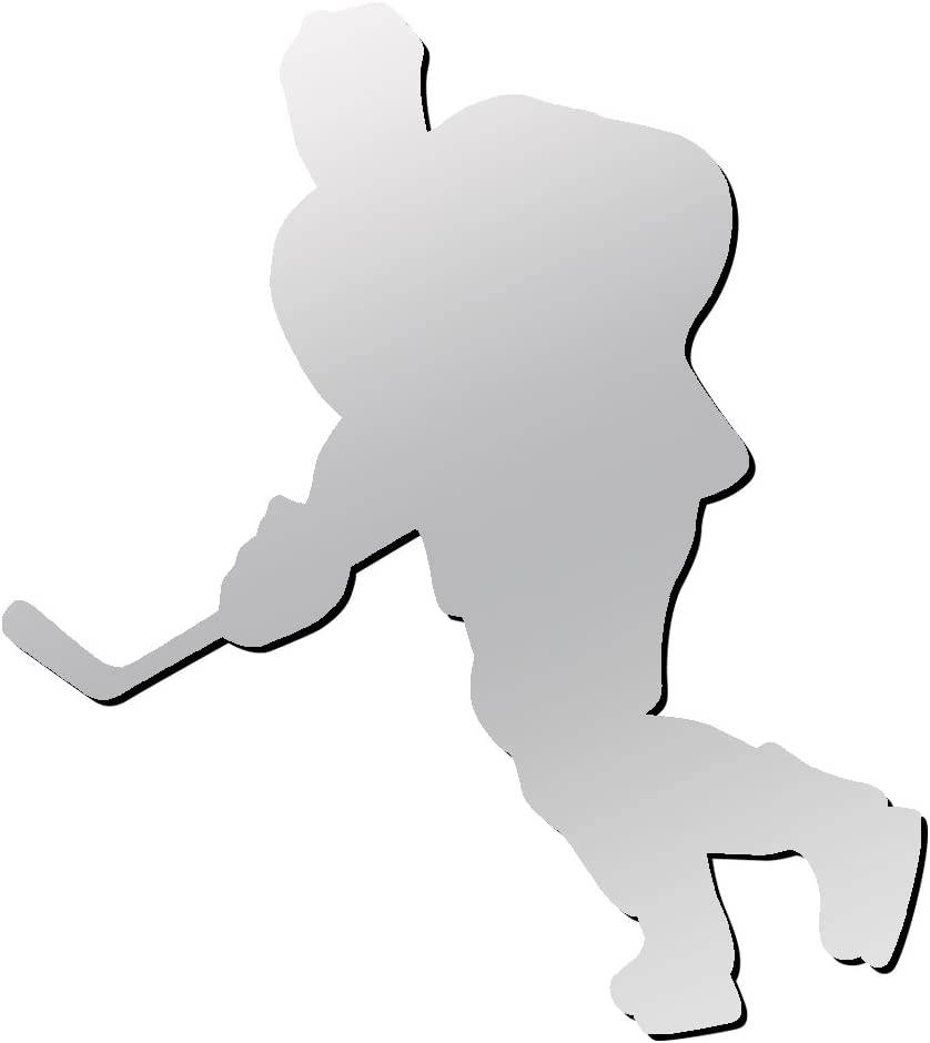 A&R Sports Hockey Player Magnet & Decal