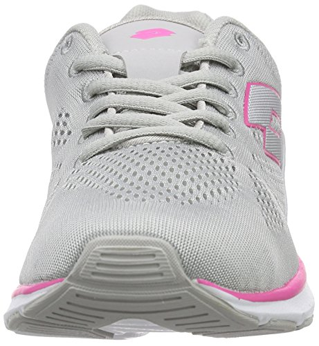 Lotto ARIANE IV AMF W - Zapatillas de running Mujer Gris