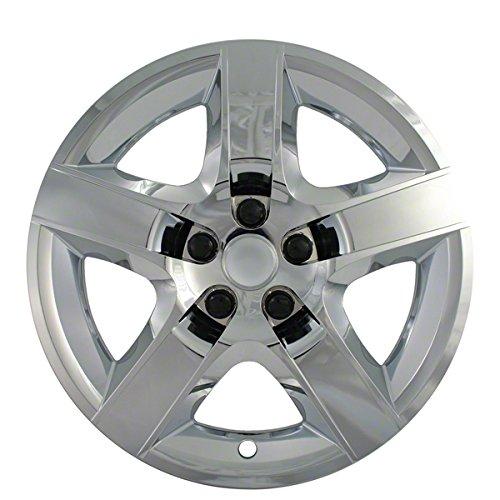 2005, 2006, 2007, 2008, 2009 Pontiac G6 Chrome Factory Replica Wheel Covers / Hubcaps (Set of 4) - 17