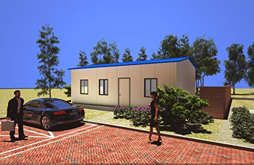 The best prefab/modular home builders in China size: L×W×H: 9.22m×8.22m×2.9m