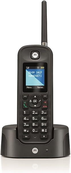 Motorola inalámbrico O201 teléfono no RDSI Negro: Amazon.es: Electrónica