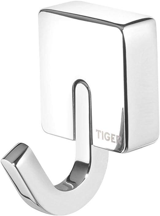 Tiger Gancho Toallero Ropa Metal Acero Inoxidable Cepillado 3,6x5,2x3,9 cm