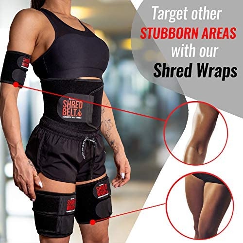 Iron Bull Strength Shred Belt V2 - Thermogenic Waist Trimmer for Men and Women - Premium Fat Burning Belt with Weight Loss Technology - Ab Toning Belt - Belly Fat Slimming Brace - Fat Burn Tummy Wrap 7