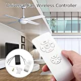 Fan Remote Control Maserfaliw Universal Ceiling Fan Lamp Remote Control Kit Timing Wireless Receiver Home Tool