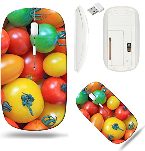 - Liili Wireless Mouse White Base Travel 2.4G Wireless Mice with USB Receiver, Click with 1000 DPI for notebook, pc, laptop, computer, mac book ID: 23241521 Various types of tomatoes in many colors Sola