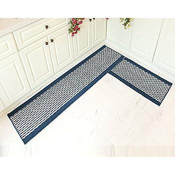 Amazon Com Ustide Kitchen Rug Set Kitchen Floor Rug