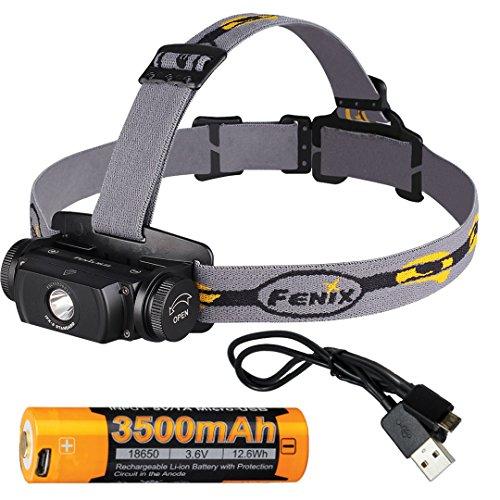 Fenix Rechargeable Headlamp 3500mAh LumenTac