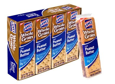 anut Butter Crackers - 3 Boxes of 8 Individual Packs ()