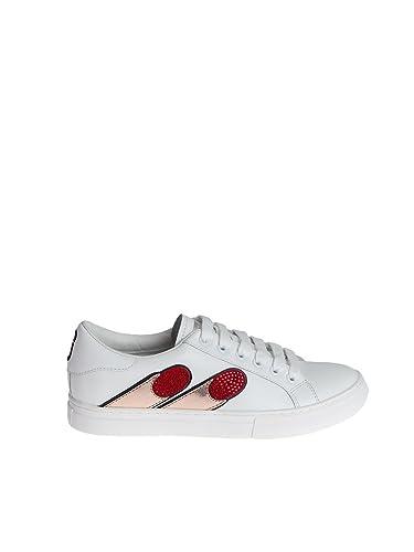 M9001894bianco Damen Marc Jacobs Weiss Leder Sneakers wTPkXOZiul