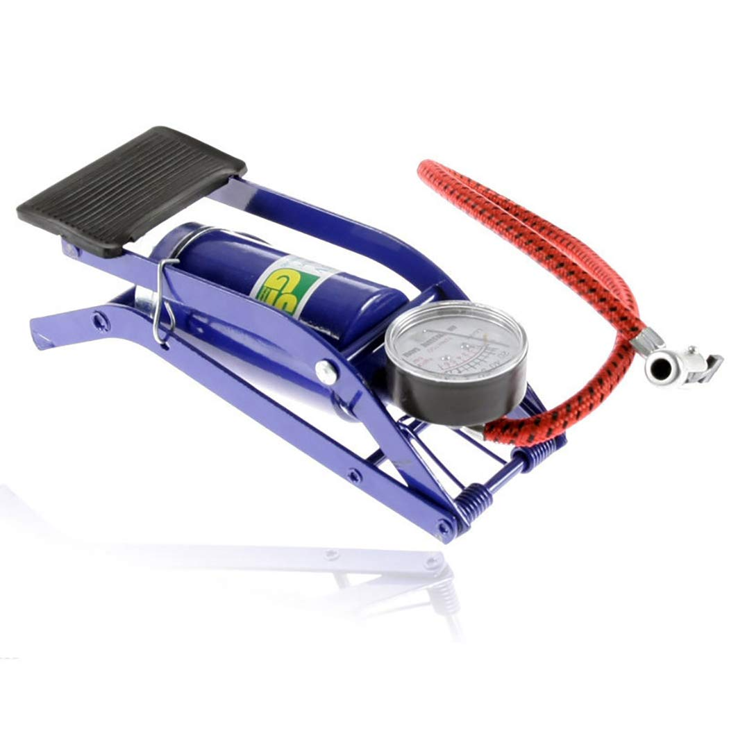Fansport Auto Air Compressor Multifunctional Portable Auto Tire Inflator Tire Pedal Pump