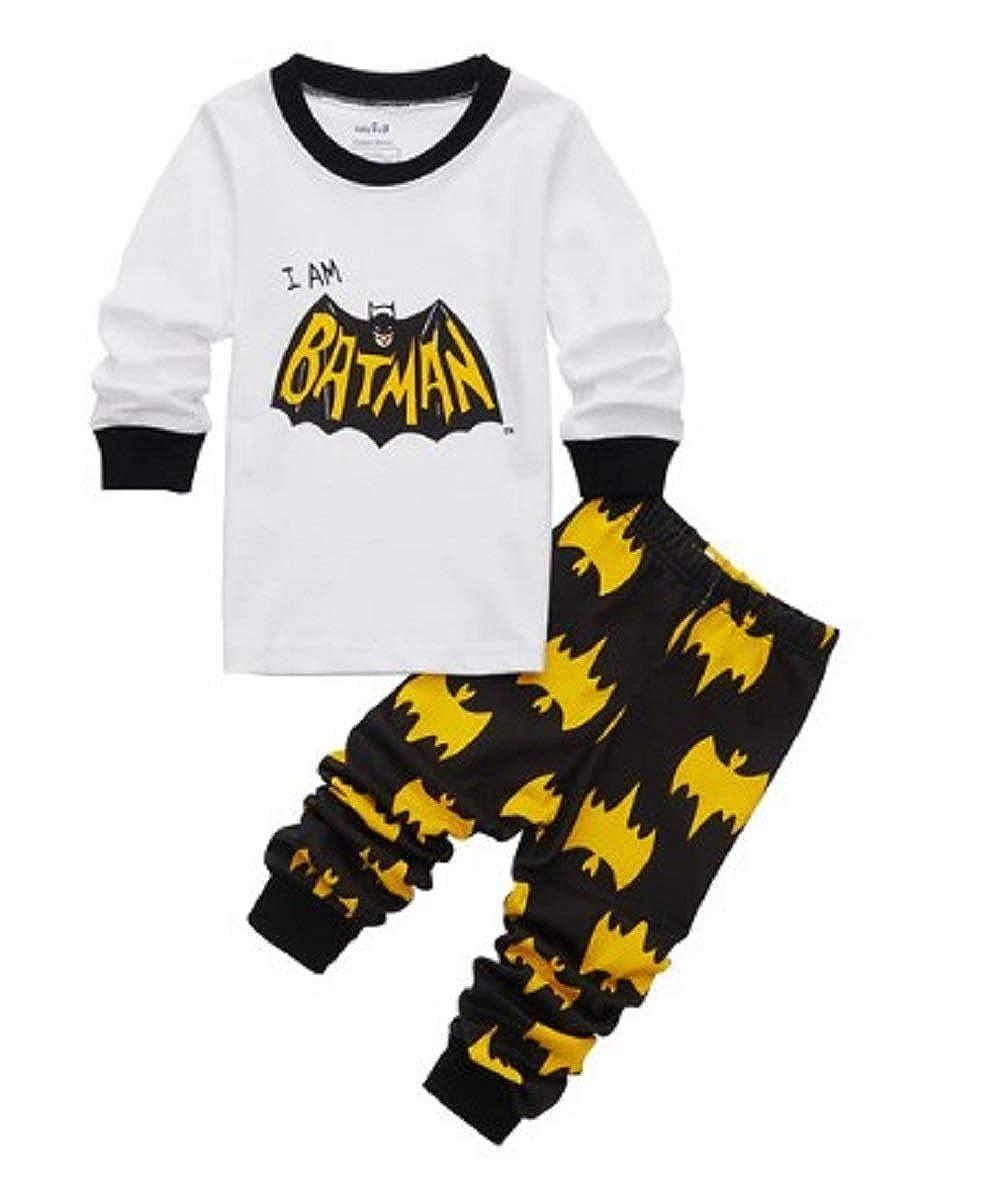Tresbon Products Two Piece Batman Pajamas Boys