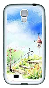 Samsung Galaxy S4 Case TPU Customized Unique Print Design Beautiful Illustrations 1 Case Cover For Samsung Galaxy S4