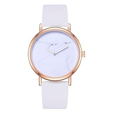 Darringls_Reloj XR2909 RINNADY,Reloj de Madera para Mujer Cuarzo Japonés y con la Correa de Cuero Genuino Liquidación Importado Reloj de Pulsera de Cuarzo ...