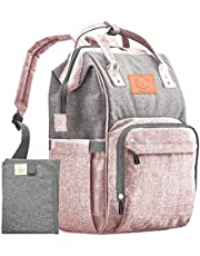 Mochila para pañales – Grandes bolsas de viaje impermeables