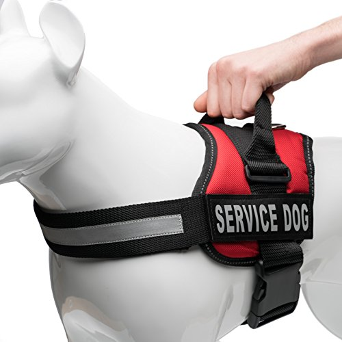 Service Harness Reflective Industrial Puppy product image