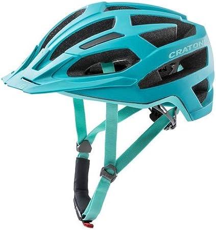 M//L 56-59cm grau//pink matt Cratoni Fahrrad Helm Fahrradhelm C-Flash MTB Gr